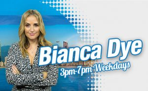 Bianca Dye radio presenter on Gold FM