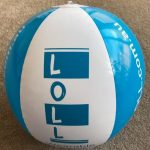 LOLL beach ball