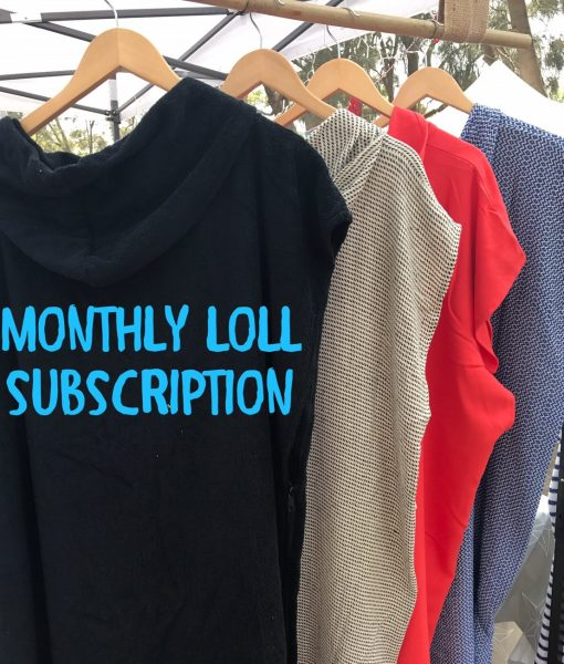 LOLL towel subscription for 6 months
