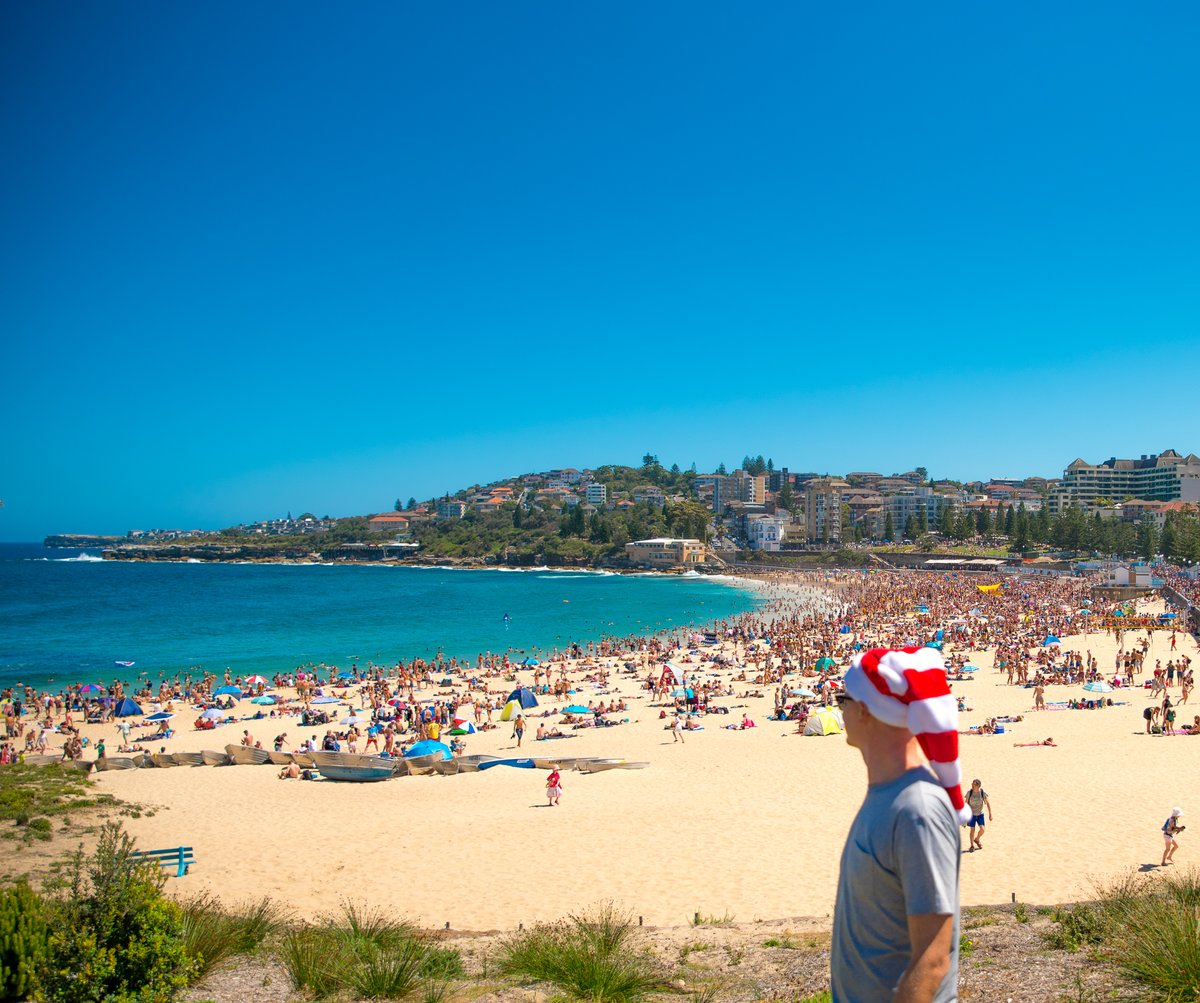 Coogee beach before the mess