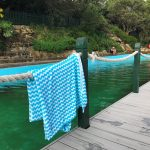 Hanging out at MacCallum Pool