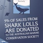 5% of Shark LOLL sales donated to the Australian Marine Conservation society