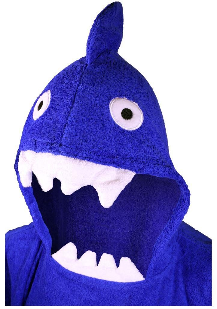 Close up of Shark towel hood