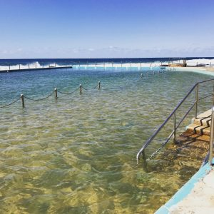 Bilgola ocean pool 17 degrees