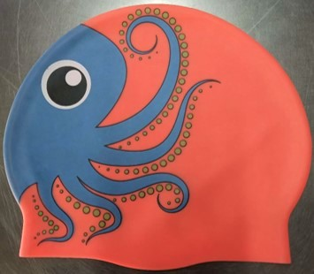 Octopus swim hat